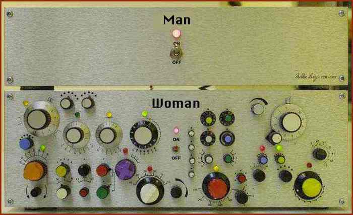 How to turn on a man, versus how to turn on a woman...