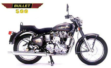 2004 Enfield Bullet 500 stock