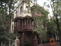 Mahatma Gandhi's house in Bombay (Mumbai). Now it's a tourist attraction, and worth visiting.