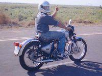 1996 Enfield Bullet 500 by (c)Copyright Daman Sidhu